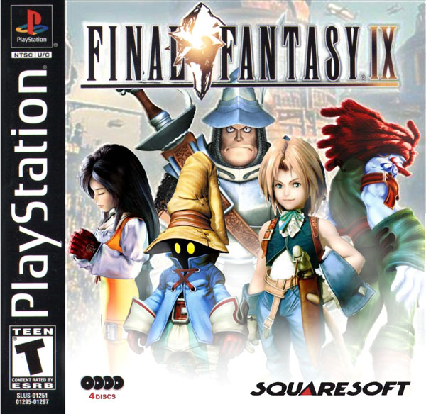 Final Fantasy IX [NTSC-U] [Disc3of4] Front Cover